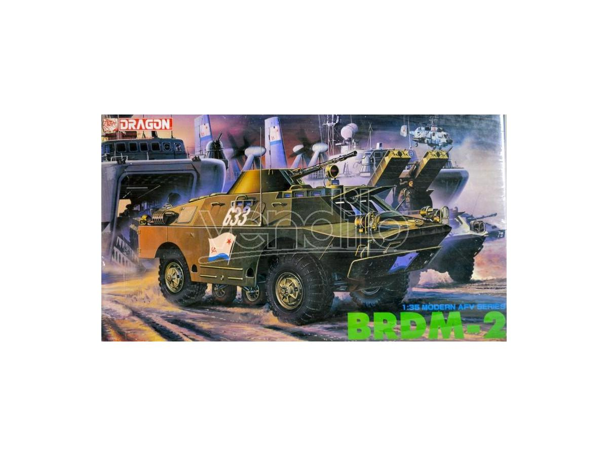 Dragon D3513 BRDM-2 KIT 1:35 Modellino