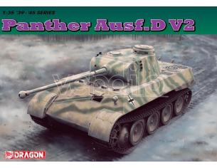 Dragon D6822 PANTHER AUSF.D V2 KIT 1:35 Modellino