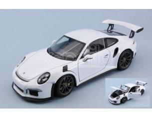 Welly WE24080W PORSCHE 911 (991) GT3 RS WHITE 1:24 Modellino