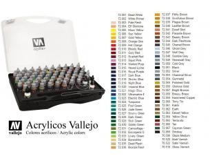 VALLEJO GAME COLOR BOX SET 72172 COLORI