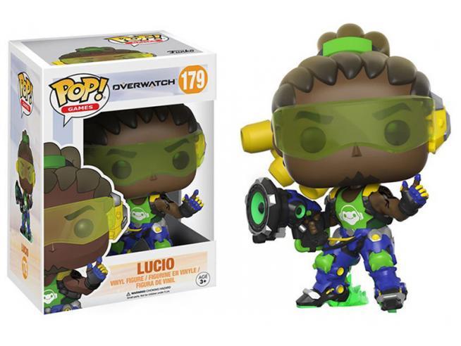 Funko Overwatch POP Games Vinile Figura Lucio 9 cm SCATOLA ROVINATA