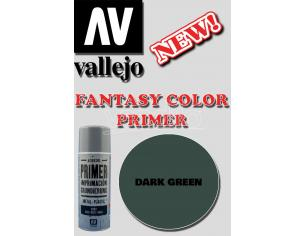 VALLEJO FANTASY COLOR PRIMER DARK GREEN 28026 COLORI