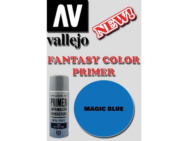 VALLEJO FANTASY COLOR PRIMER MAGIC BLUE 28030 COLORI