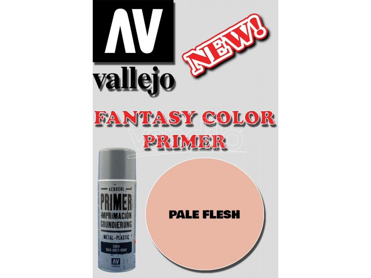 VALLEJO FANTASY COLOR PRIMER PALE FLESH 28024 COLORI
