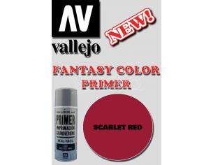 VALLEJO FANTASY COLOR PRIMER SCARLET RED 28016 COLORI