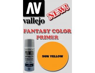 VALLEJO FANTASY COLOR PRIMER SUN YELLOW 28018 COLORI