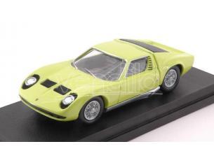 Rio RI4584 LAMBORGHINI MIURA BERTONE P400S 1966 LIME GREEN 50th ANNIVERSARY 1:43 Modellino