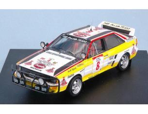 Trofeu TF1630 AUDI QUATTRO N.8 RET.SAFARI RALLY 1984 S.BLOMQVIST-B.CEDERBERG W.CH.1:43 Modellino