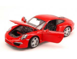 RASTAR RAT56200R PORSCHE 911 RED 1:24 Modellino