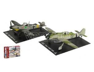 Italeri IT35101 BF109 F-4 AND FW 190 D9 WAR THUNDER KIT 1:72 Modellino