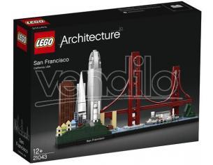 LEGO ARCHITECTURE  21043 - SAN FRANCISCO