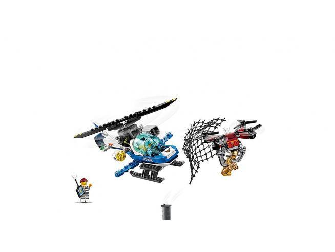 LEGO CITY POLIZIA 60207 - INSEGUIMENTO CON IL DRONE DELLA POLIZIA AEREA