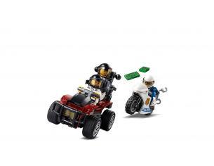 LEGO CITY POLIZIA 60208 - ARRESTO CON IL PARACADUTE DELLA POLIZIA AEREA
