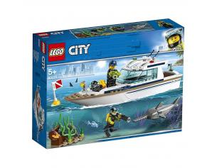 LEGO CITY POLIZIA 60221 - YACHT PER IMMERSIONI