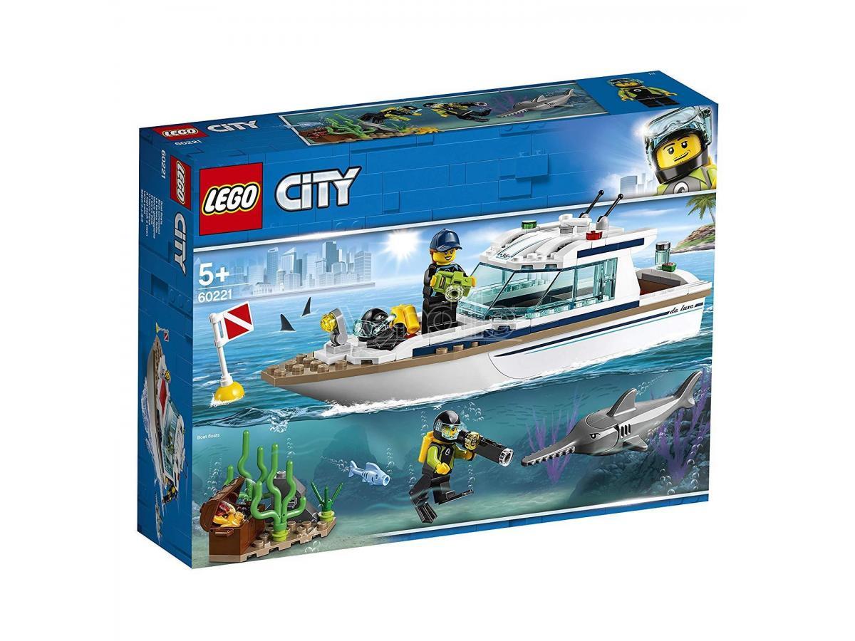 LEGO CITY POLIZIA 60221 - YACHT PER IMMERSIONI