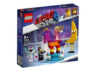 LEGO MOVIE 2 70824 - ECCO A VOI LA REGINA WELLO KE WUOGLIO