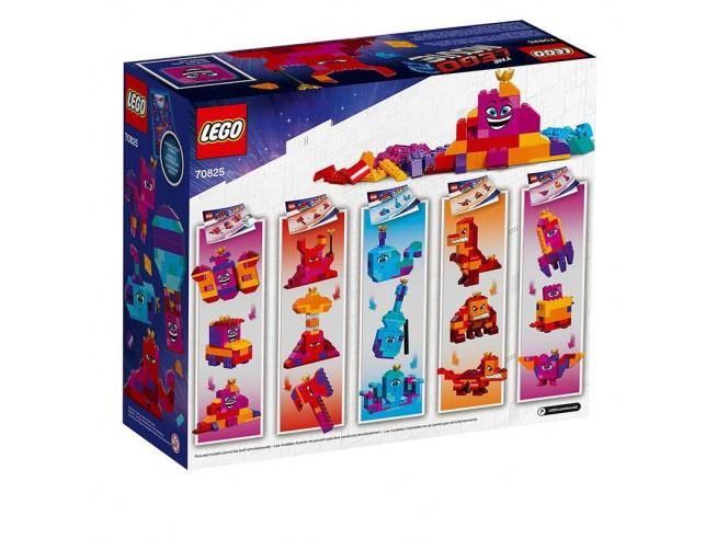 """LEGO MOVIE 2 70825 """"COSTRUISCI QUELLO CHE VUOI"""" DELLA REGINA WELLO CHE WUOGLIO!"""