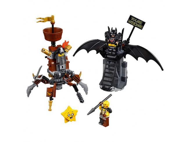 LEGO MOVIE 2 70836 - BATMAN PRONTO ALLA BATTAGLIA E BARBACCIAIO