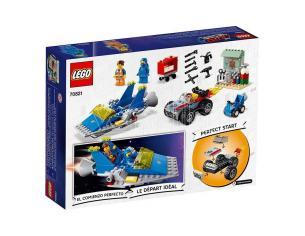 LEGO MOVIE 2 70821 - EMMET E L'OFFICINA AGGIUSTATUTTO DI BENNY!