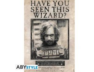POSTER HARRY POTTER WANTED SIRIUS BLACK GADGET