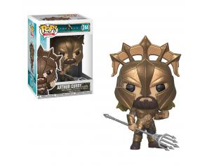 Funko DC Comics Aquaman POP Heroes Vinile Arthur Curry come Gladiatore 9 cm