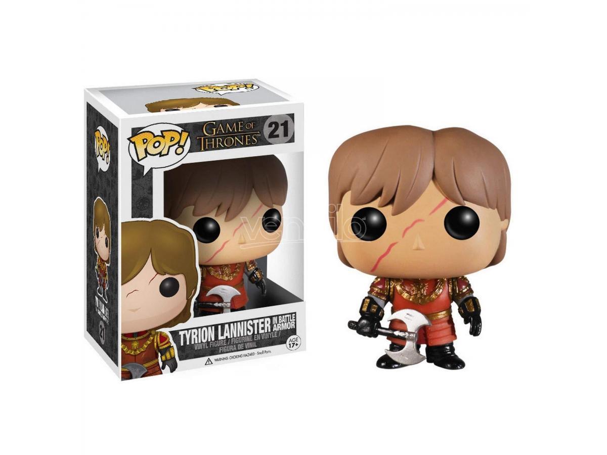 Funko Game of Thrones POP Serie TV Vinile Tyron Lannister battaglia Armour 9 cm
