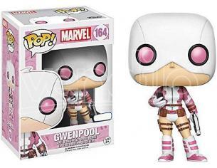 Marvel Funko POP Vinile Figura Gwenpool Mascherata con Pistola 9 cm