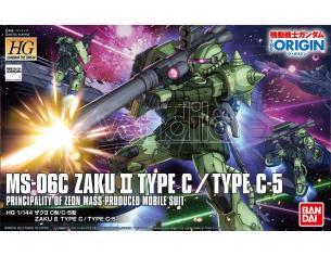 BANDAI MODEL KIT HG ZAKU II TYPE C/TYPE C-5 1/144 MODEL KIT