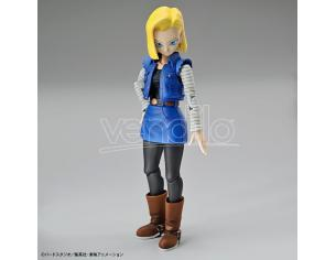 Bandai Model Kit Figura Rise Android 18 Model Kit