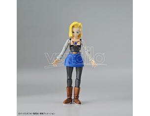 Bandai Model Kit Figura Rise Android 18 Model Kit