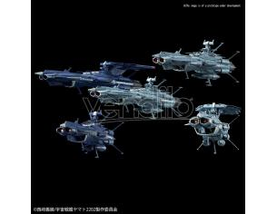 BANDAI MODEL KIT YAMATO MECHA COLL UNCF A-CLASS SET MODEL KIT
