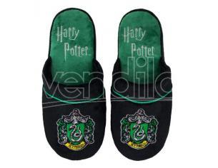 Pantofole Ciabatte Serpeverde Harry Potter M/L (40/44) Ufficiale Cinereplicas