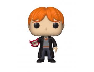 Funko Harry Potter POP Movies Vinile Figura Ron Weasley Strilleria 9 cm