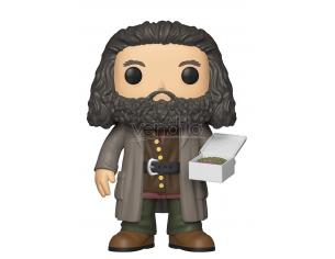 Funko Harry Potter POP Movies Vinile Figura Hagrid con Torta 14 cm