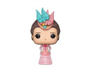 Funko Mary Poppins POP Serie TV Vinile Figura Mary Poppins con Vestito Rosa 9 cm