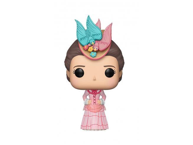 Funko Mary Poppins POP Serie TV Vinile Figura Mary Poppins con Vestito Rosa 9 cm