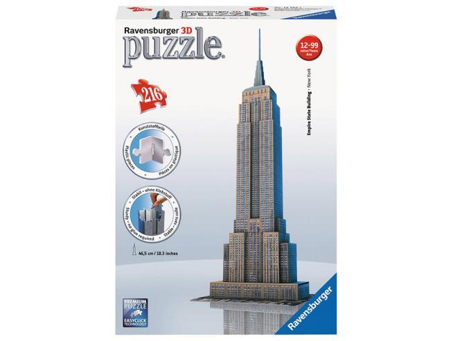 RAVENSBURGER: 3D EMPIRE STATE BUILDING PUZZLE