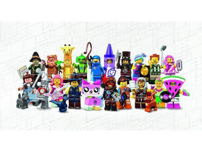 LEGO 71023 MINIFIGURES MOVIE 2 EDIZIONE LIMITATA CONFEZIONE DA 60 BUSTINE