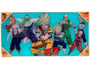 SD TOYS DRAGON BALL Z HEROES GLASS POSTER POSTER