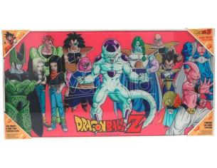 SD TOYS DRAGON BALL Z VILLAINS GLASS POSTER POSTER