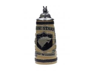SD TOYS GOT HOUSE STARK BAVARIAN BEER STEIN BOCCALE