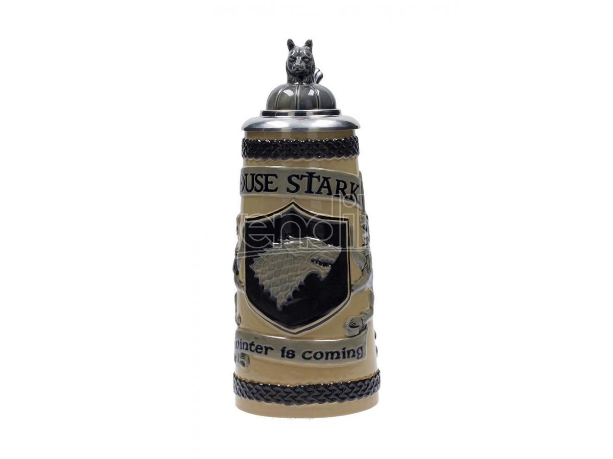 SD TOYS GOT HOUSE STARK BAVARIAN BEER STEIN BOCCALE
