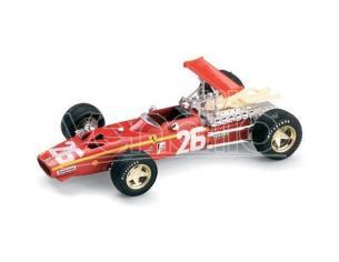 Brumm BM0171 FERRARI 312 F 1 J.ICKX 1968 N.26 WINNER FRANCE GP 1:43 Modellino