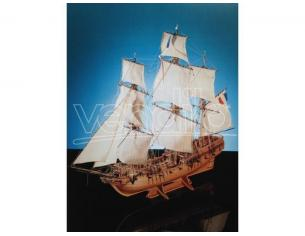 Corel SM 50 Tonnant - Corvetta corsara del XVIII Kit Nave in legno 1:50 Modellino