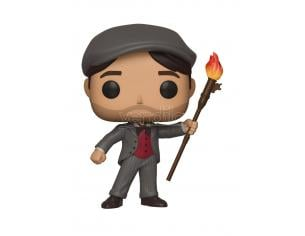 Funko Mary Poppins POP Serie TV Vinile Figura Jack the Lamplighter 9 cm