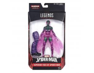 Marvel Legend Series Action Figure Nemici di Spiderman Scarabeo 15cm