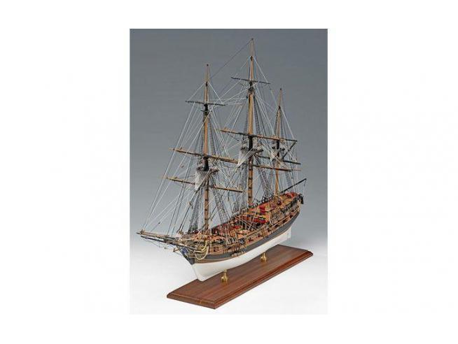 Amati 1300-03 H.M.S. Fly 1776 Kit Nave legno 1:64 Modellino