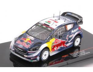 Ixo model RAM676 FORD FIESTA WRC N.2 2nd RALLY PORTUGAL 2018 E.EVANS-D.BARRITT 1:43 Modellino