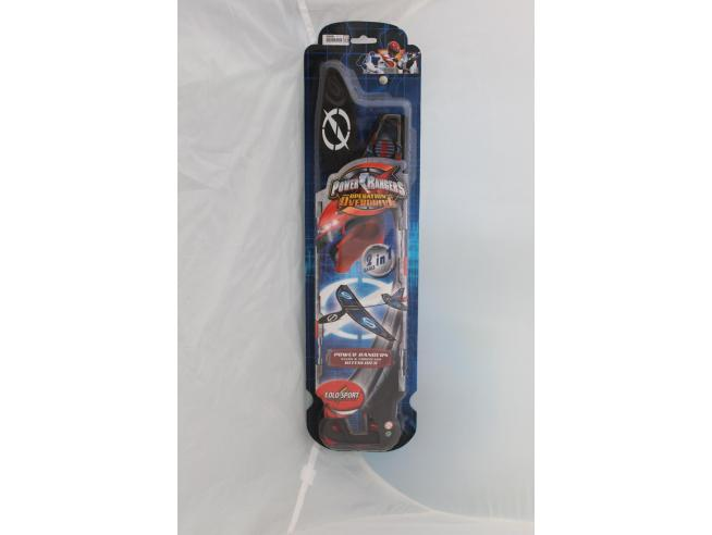 POWER RANGERS Operation Overdrive - Aereo Aquilone 2 games in 1
