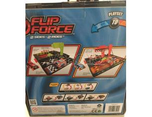 Flip Force 0541 Set 2 Piste 2 Veicoli Racer/Roll Mac Due
